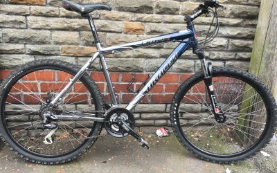 Saracen rufftrax mountain bike (hydraulic)
